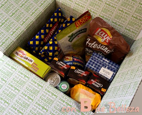 Junio caja Degustabox