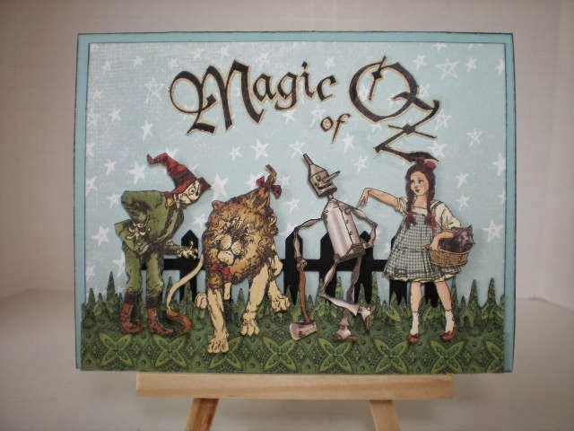 Magic of Oz Card