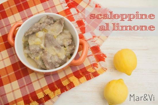 Ricetta di scaloppine al limone