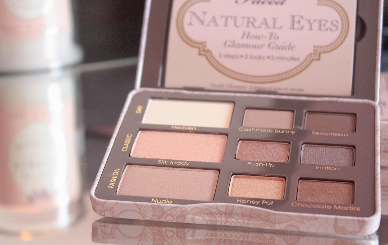 Beautylogie Too Faced Natural Eye Palette All Time Favorite