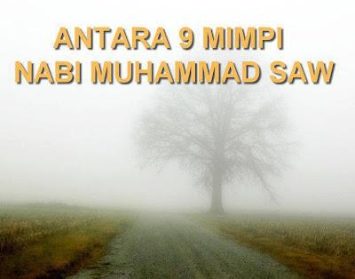 Janggut Nabi Muhammad 9 Mimpi Nabi Muhammad Saw
