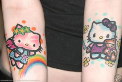 Hello Kitty Tattoo Design Picture gallery - Hello Kitty Tattoo Ideas