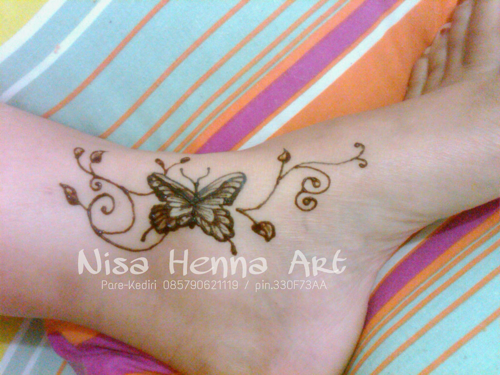 Gambar Henna Gelang Balehenna