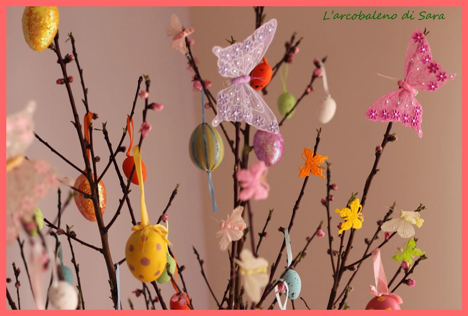 decori albero di Pasqua