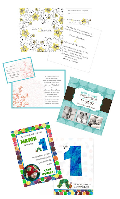 Creative Printing of Bay County - Panama City, Florida - Creative Print Projects - Custom Invitations