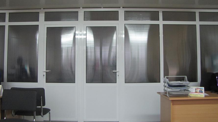Металлопластиковые двери - Ornet