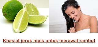 khasiat Manfaat Jeruk Nipis Untuk Rambut
