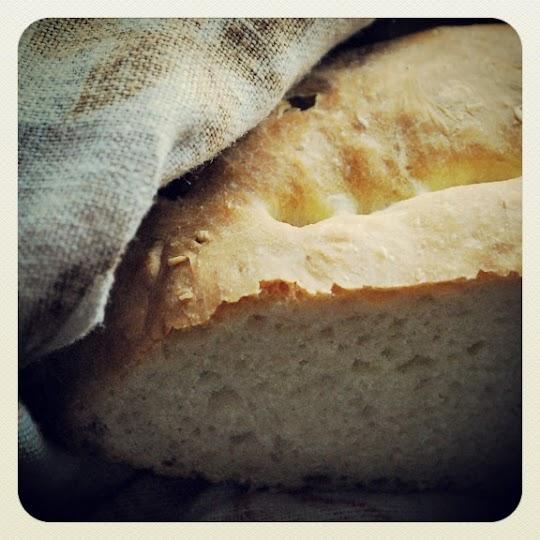 Chleb toskański bez soli