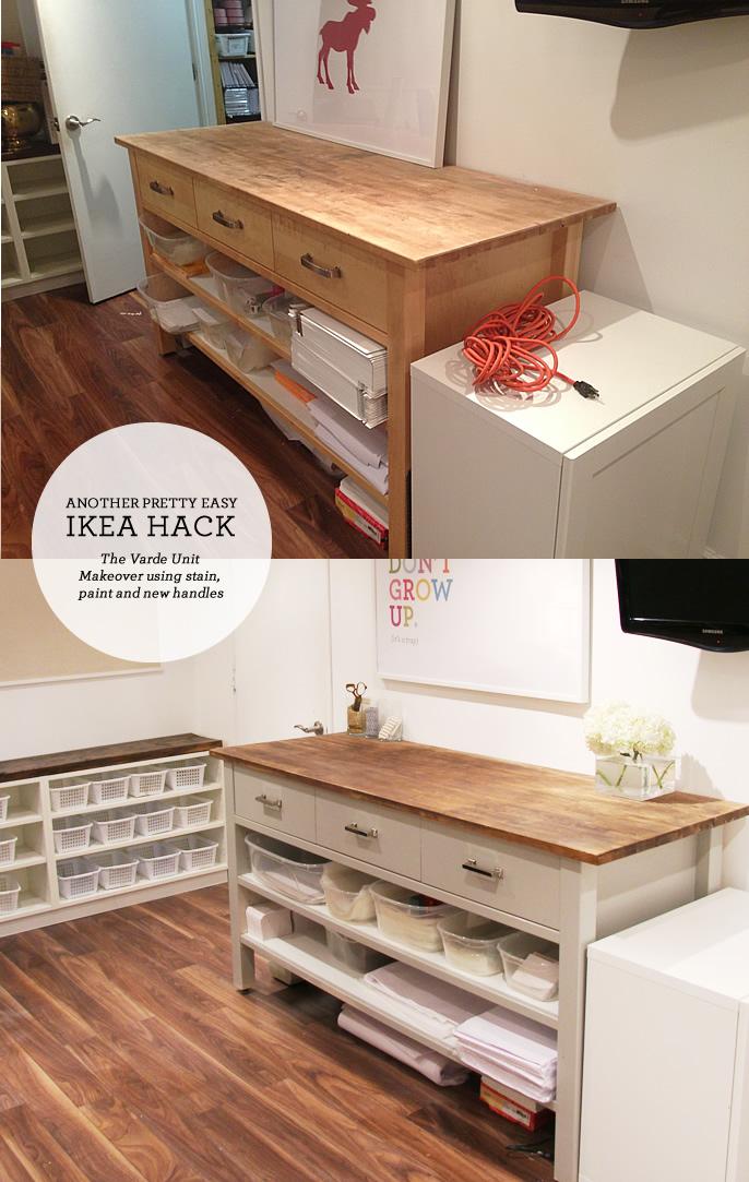 ikea hacking the varde unit lindsay stephenson bloglovin. Black Bedroom Furniture Sets. Home Design Ideas