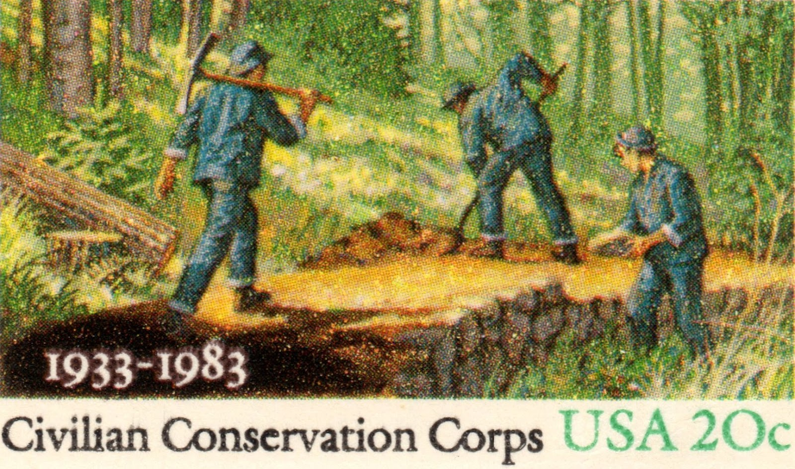 New deal of the day august 2015 for Soil conservation act