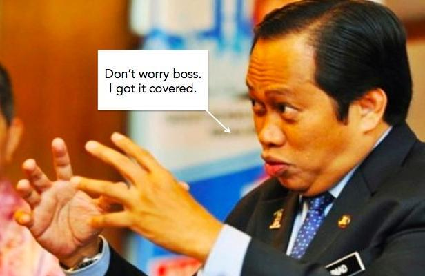 Ahmad Maslan saved the day