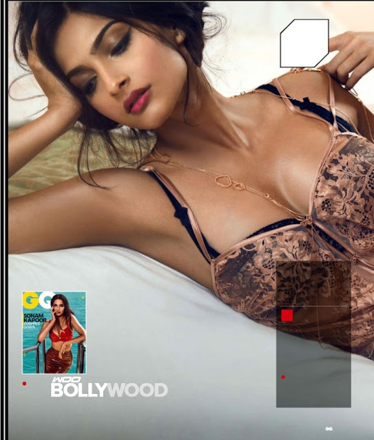 Sonam Kapoor Hot gq Photo Shoot