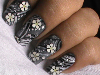 Easy nail designs with FIMO flower nail art- Fimo Canes Collection nail art design Tutorials Videos for beginners DIY Tips
