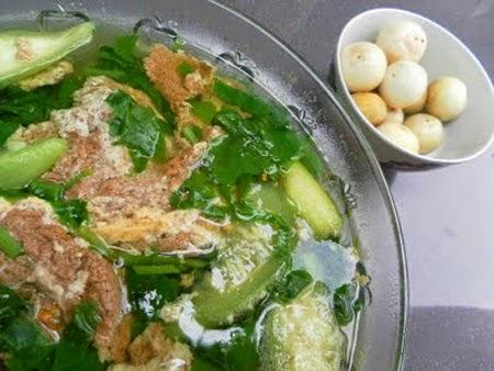 Canh Mướp Thịt Gà, Vợ Nấu Chồng Khen Ngon