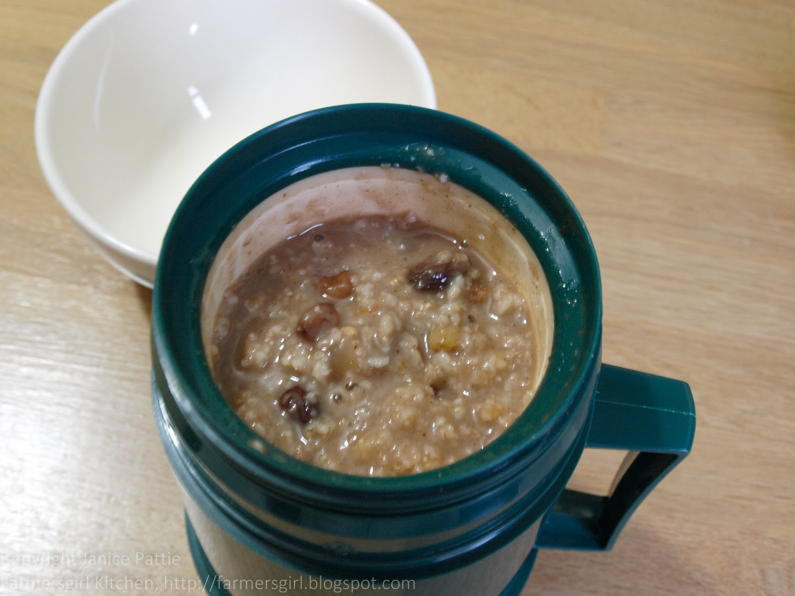 Fruity Porridge in a Flask for Breakfast Week ...
