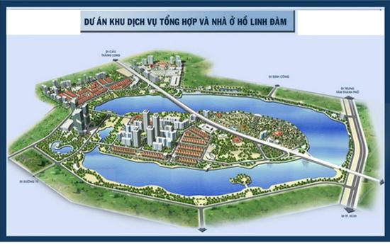 Vị trí dự án chung cư HH2 HH1 Linh Đàm