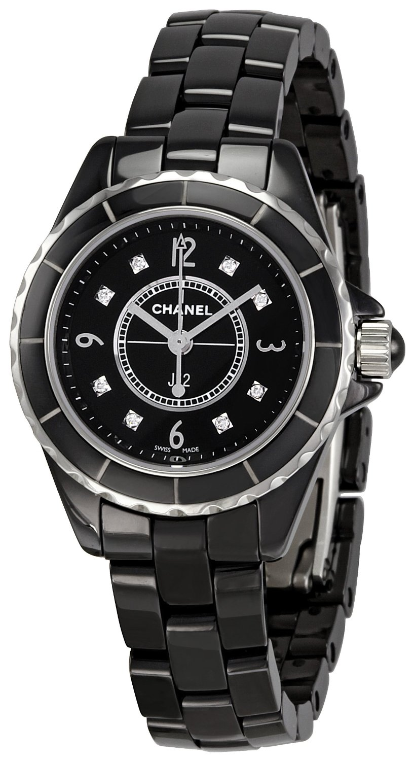 black chanel watches for