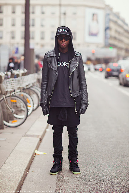 street style-black-leather