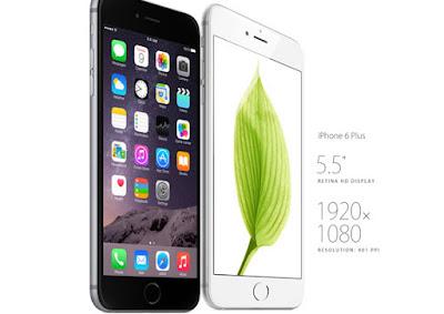 Harga dan Full Spesifikasi Handphone Apple iPhone 6 Plus ...