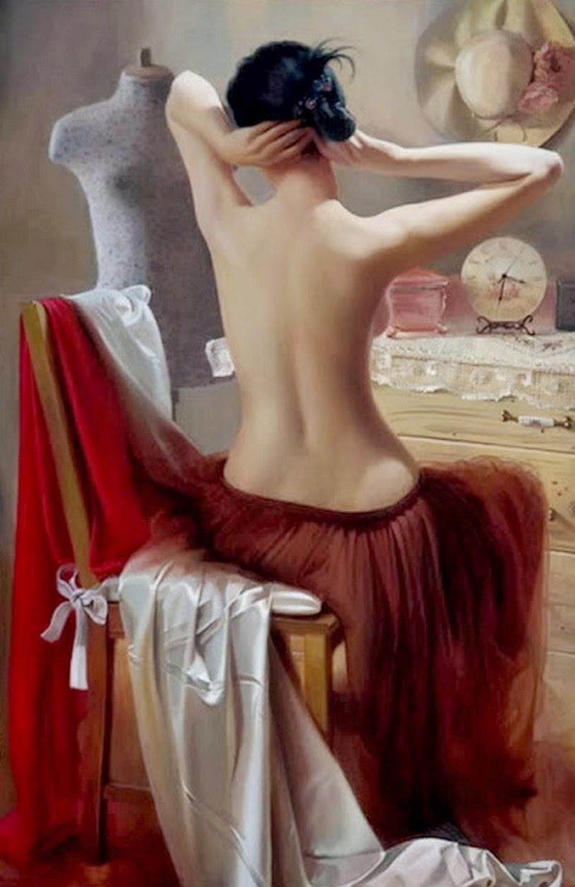 desnudos-de-mujeres-al-oleo
