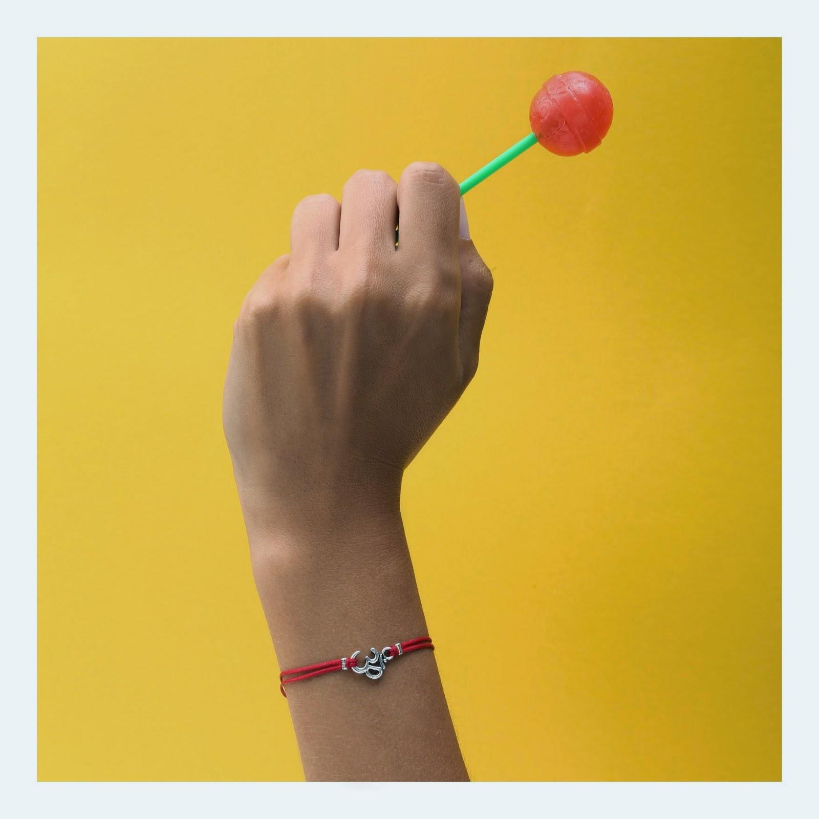 Om bracelet, yoga jewelry