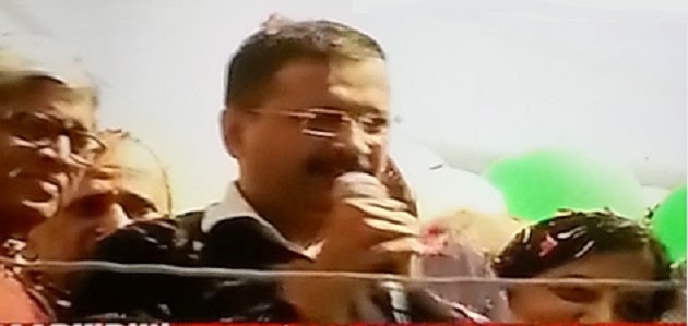 Arvind Kejriwal the Muffler Man, the architect of the unprecedented win