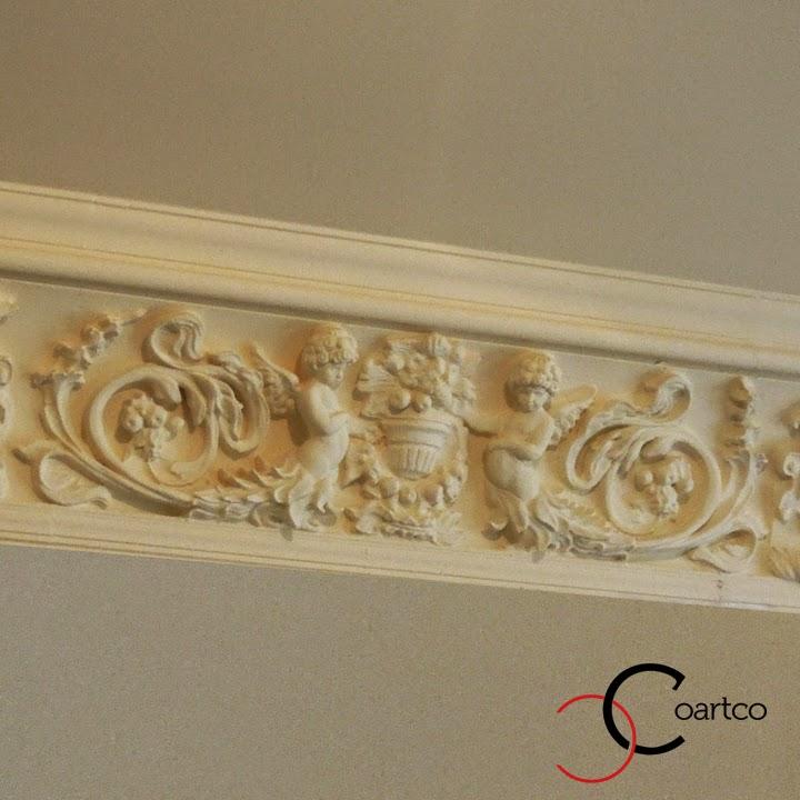 reproducere profile decorative pentru tavan din polistiren