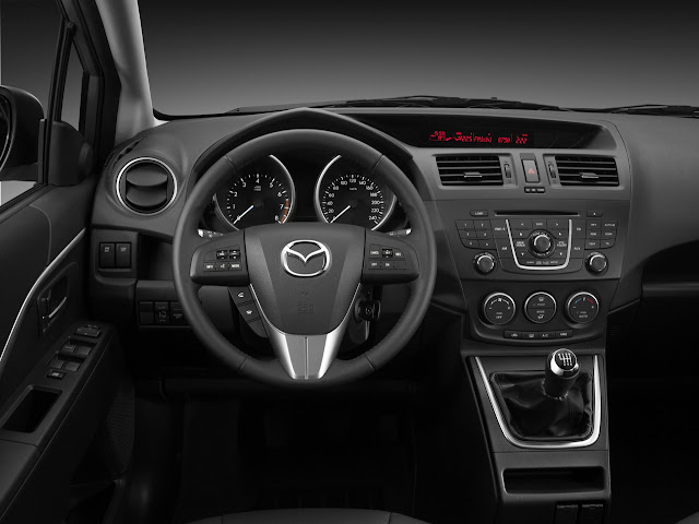 2012 Mazda 5 interior