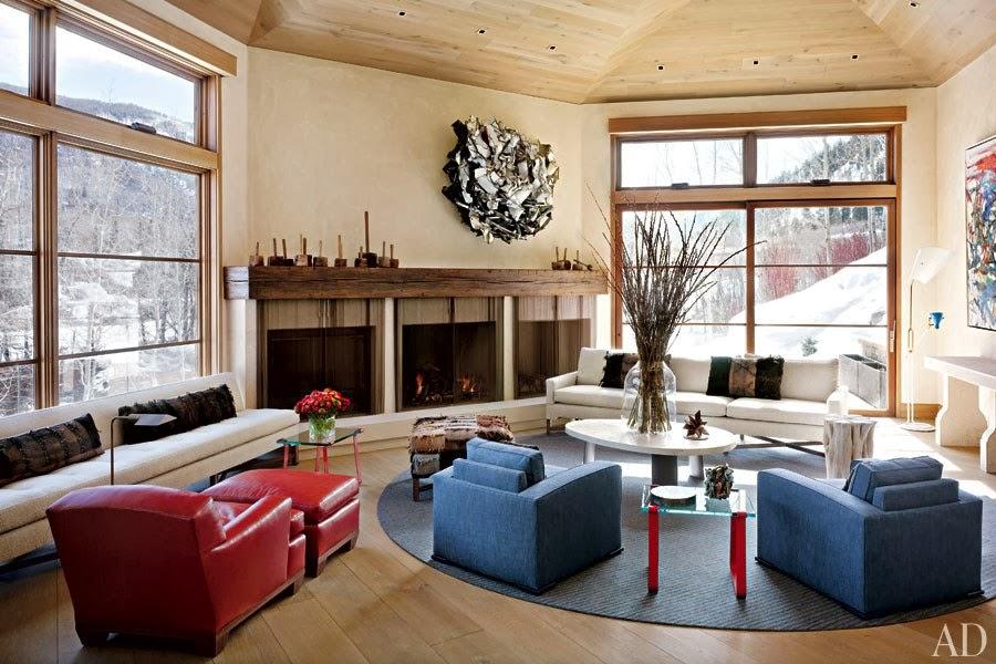 New Home Interior Design Stephen Sills Designs a Modern Aspen Retreat
