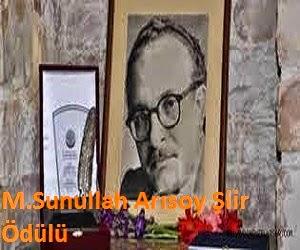 M. Sunullah Arısoy Şiir Ödülü