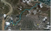 Peta Lokasi Sungai Pengkalan Chepa