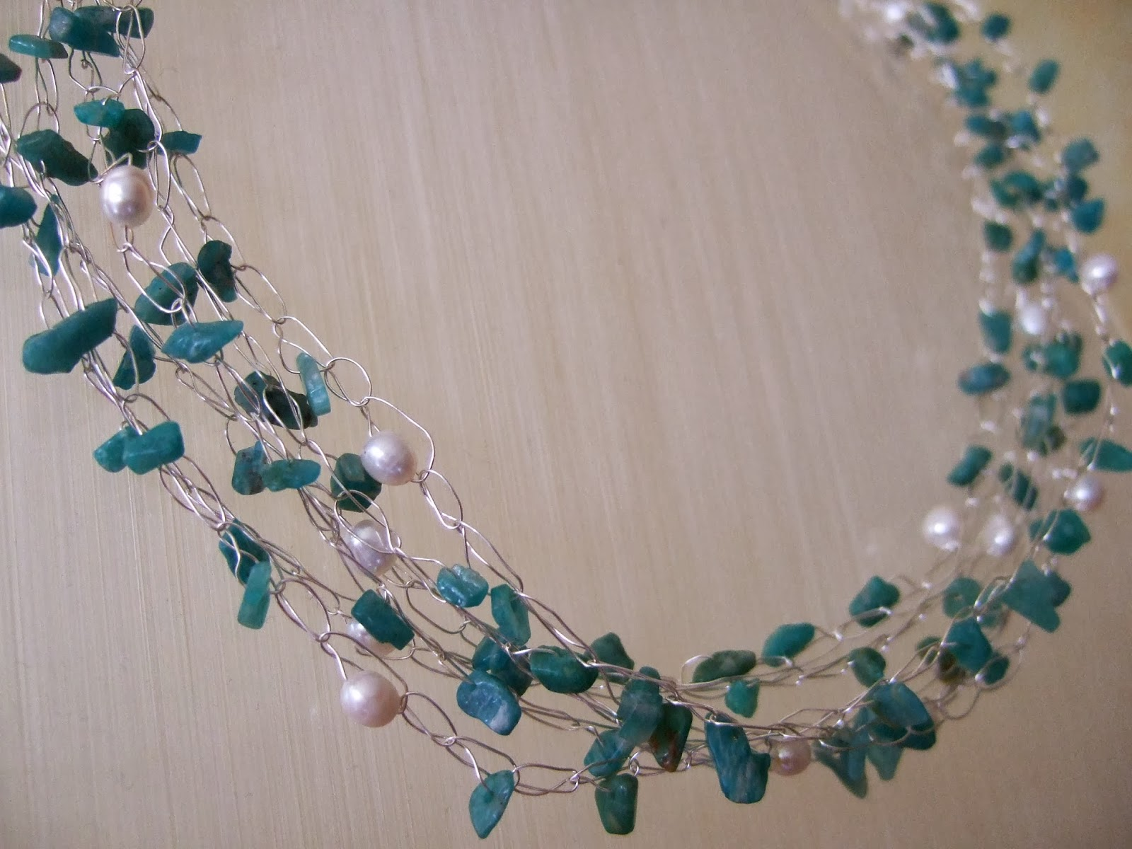 Linden Grove: Bead and Wire Crocheted Necklace Giveaway