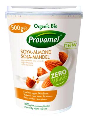 veganer Bio-Mandel-Sojajoghurt von Provamel