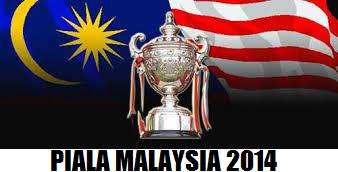 kedudukan piala malaysia 2014