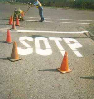 funny photo: Sotp instead off stop