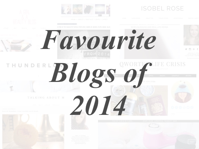 Faavourite Blogs of 2014