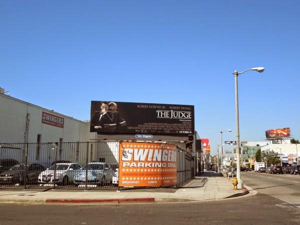 The Judge film billboard
