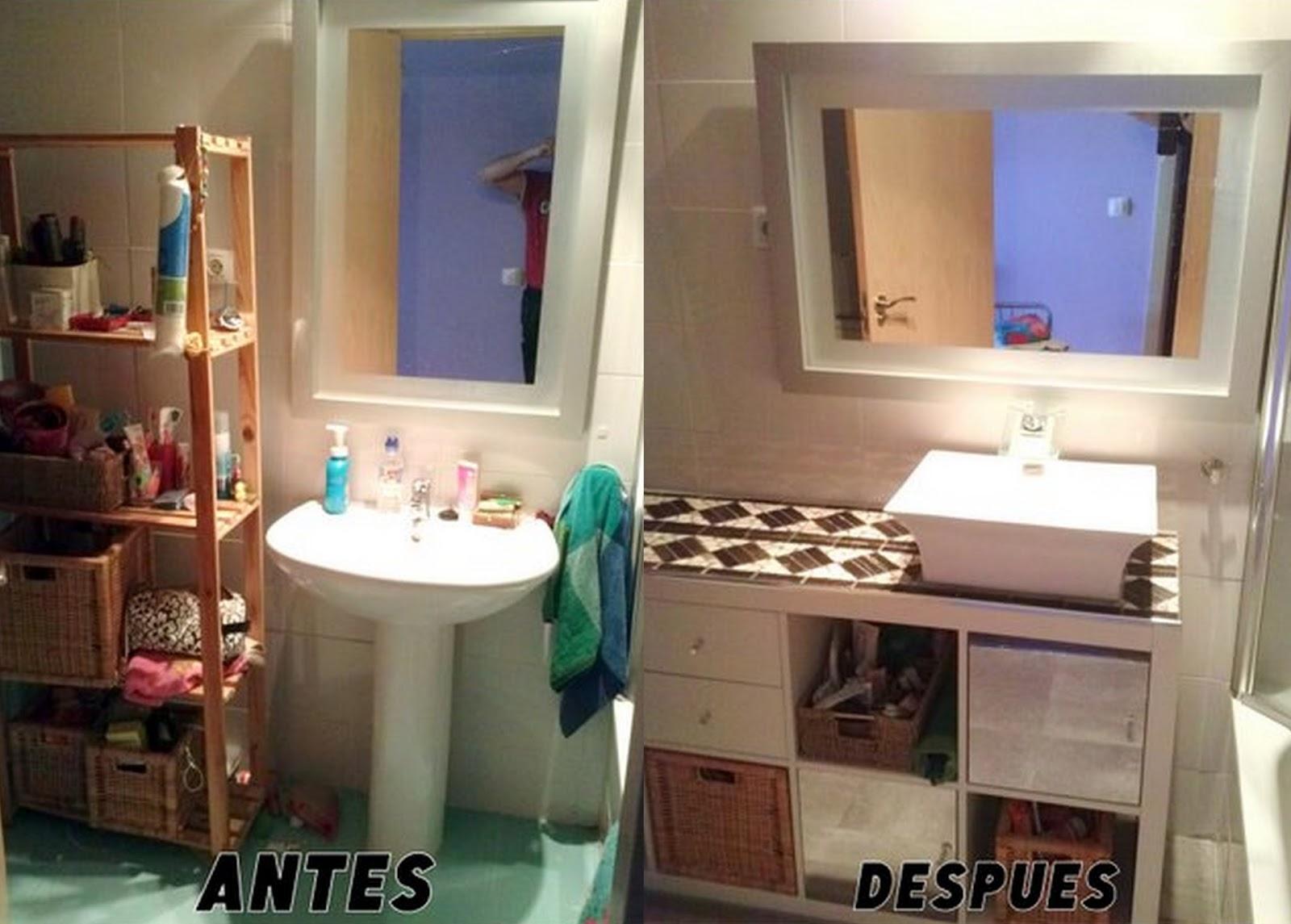 Un baño renovado con EXPEDIT | MI LLAVE ALLEN