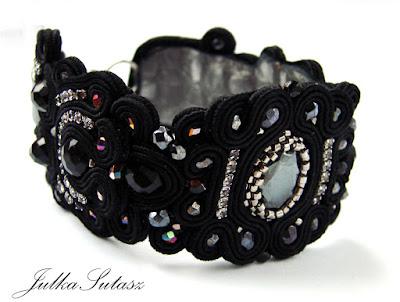 *Little Black Dress* Bracelet