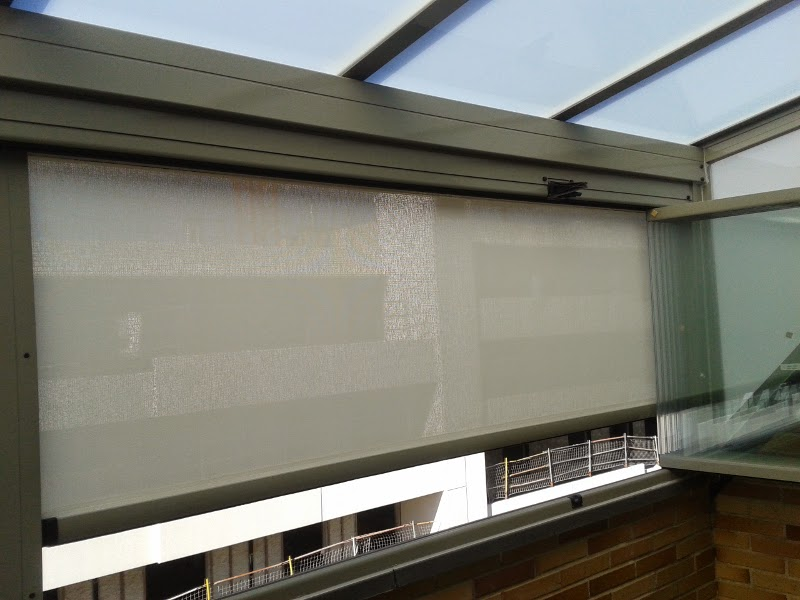 Estores de exterior y cortina cristal