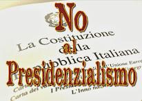 La Costituzione non si tocca!