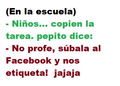 """Chiste: """"En la Escuela"""""""