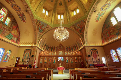 Holy Eucharist Ukrainian Catholic Church at 505 Watt Street.