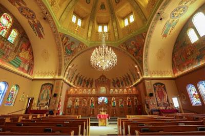 Holy Eucharist Ukrainian Catholic Church at 505 Watt Street.