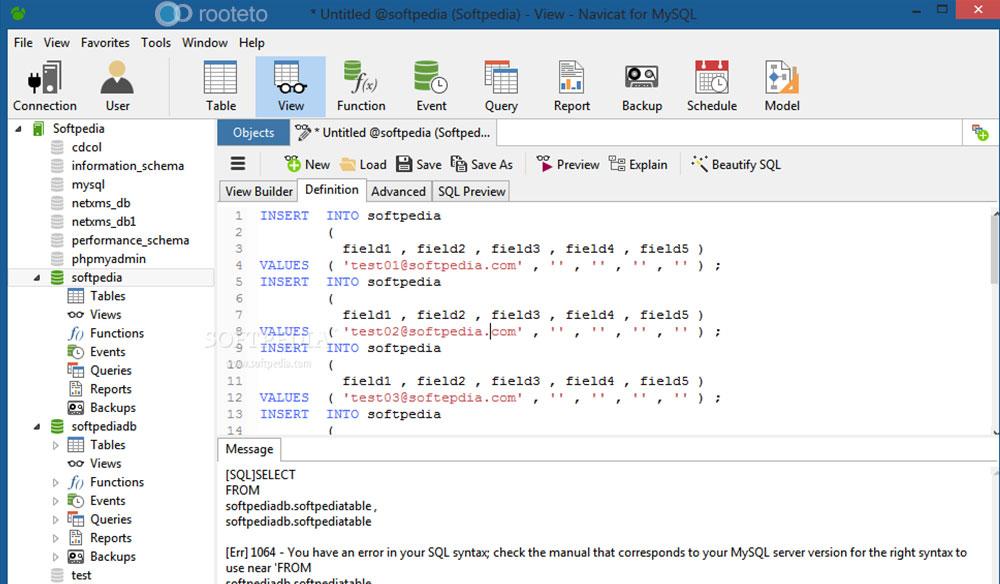 SQLyog Alternatifi Navicat SQL – MySQL Veritabanı Yönetim Programı