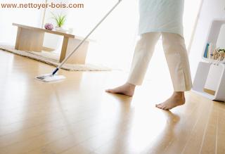 nettoyer plancher de bois