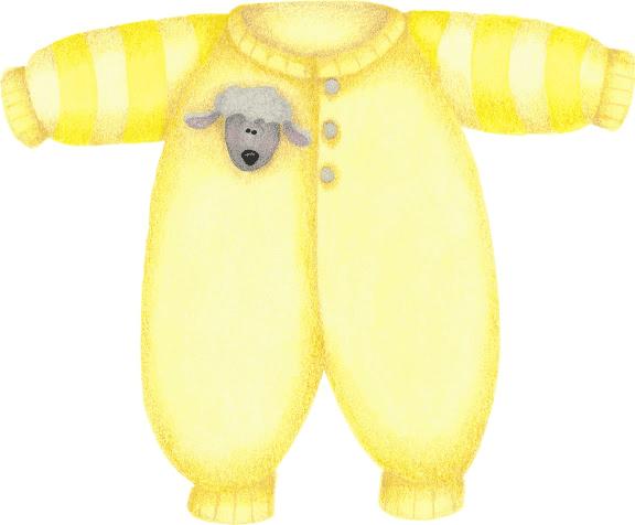 Ropita de bebe para imprimir