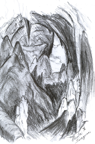 limestone caves coloring pages - photo#4