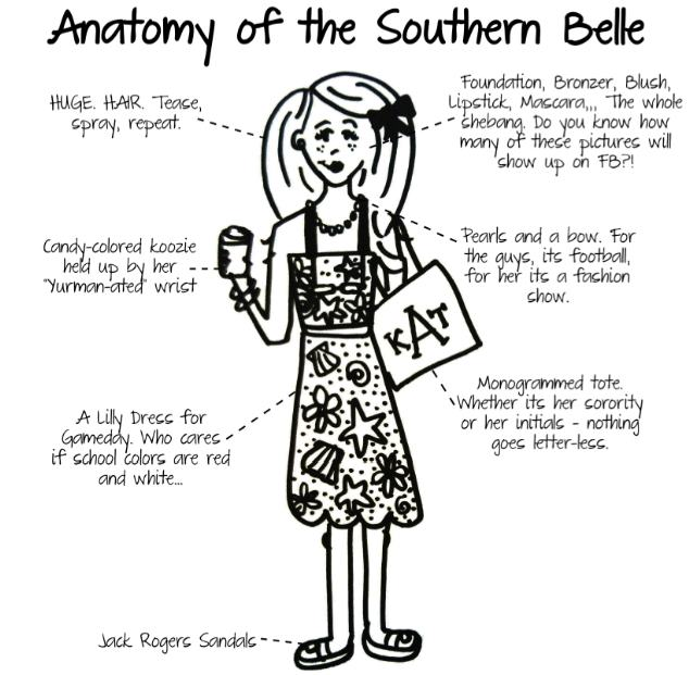 Keep It Classy Alabama Anatomy Of A Southern Belle