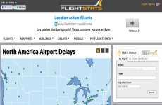 FlightStats: seguimiento de vuelos e información de aeropuertos de todo el mundo online en tiempo real